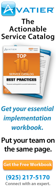 Service Catalog Best Practices