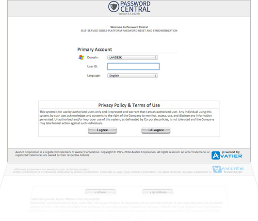 Customize Your Login Screen and Privacy Policy
