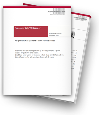 KuppingerCole Identity Management Analyst White Paper