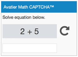 Math Captcha