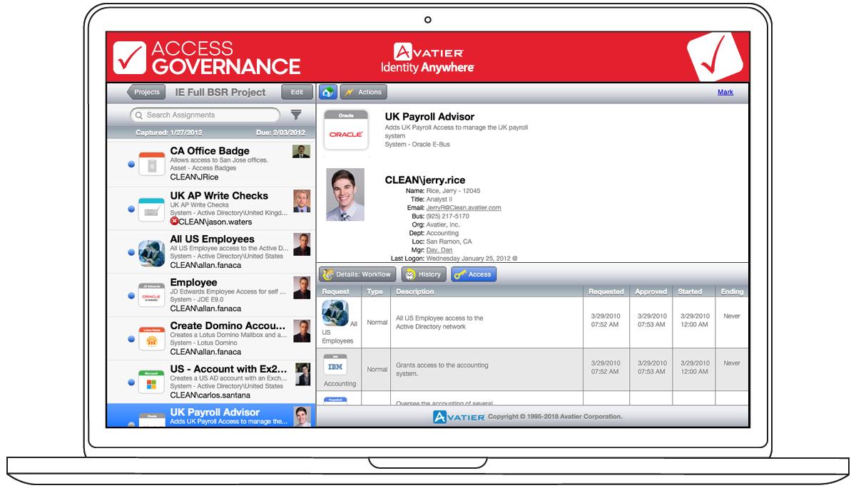 Access Governance Mobile App
