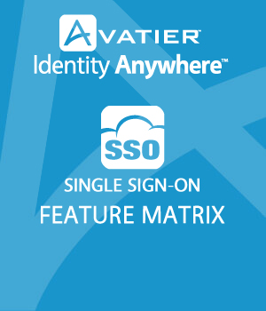 SSO Feature Matrix